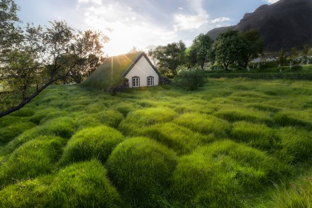 Hof Church Iceland