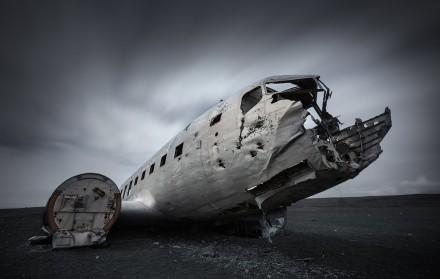 Navy DC3 plane Iceland