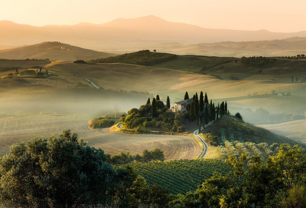 tuscany morning