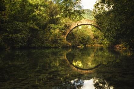 Le pont de Tuves