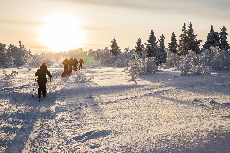 raid ski pulka