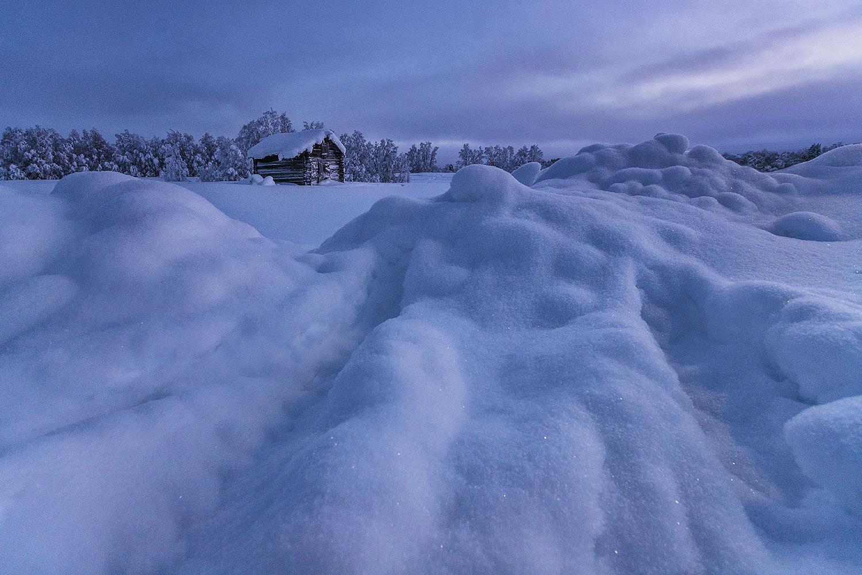 raid ski maison laponie