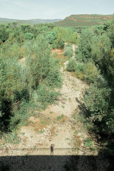 Rivière asséchée dans le Var.