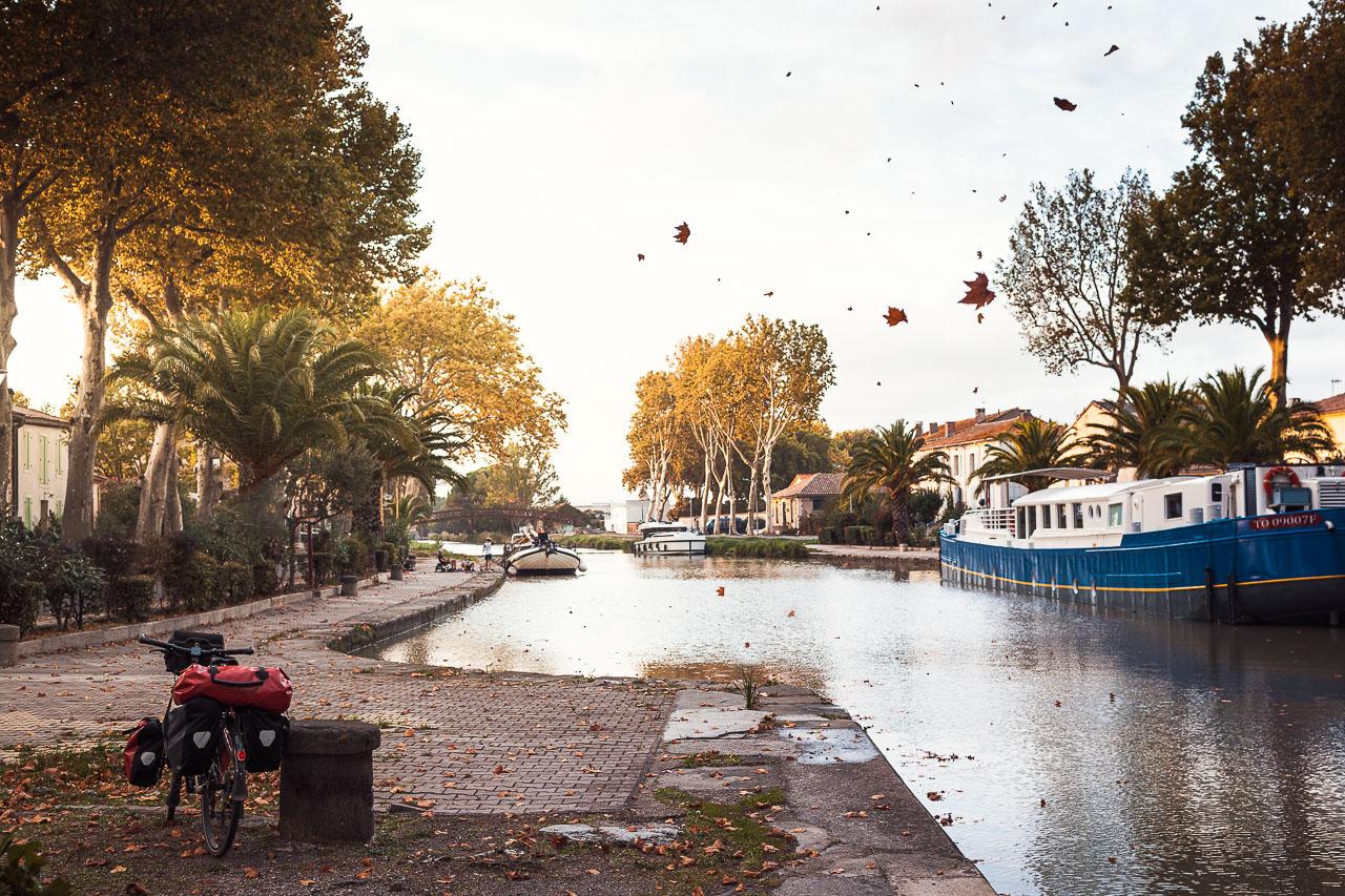 Le Canal du Midi à Sallèles d'Aude