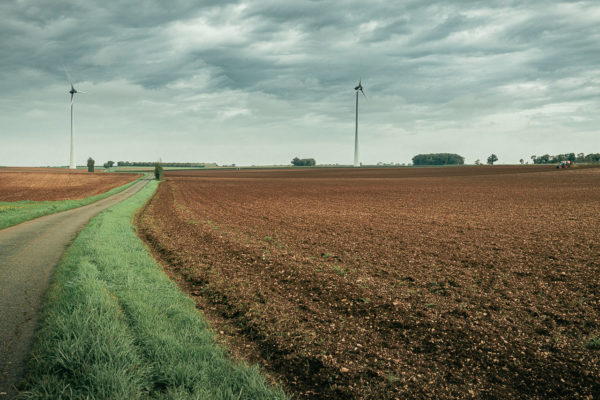 Éoliennes dans la Vienne